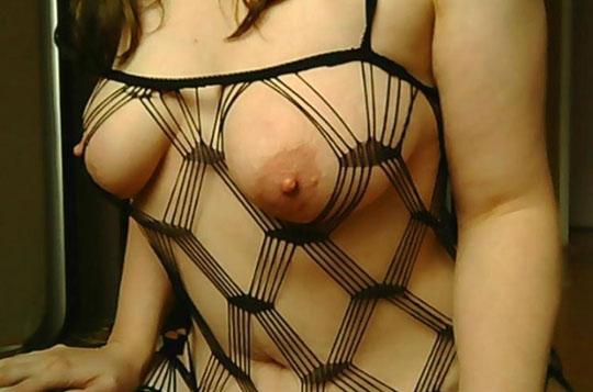 sexcam schlampe im fischnetz kleid